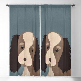 Dog Nursery Art print, Dog Print, Animals Print, Digital Drawing, Modern Minimal Blackout Curtain