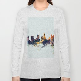 Columbus Ohio Skyline Long Sleeve T-shirt