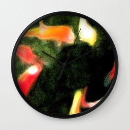 Midnight Fish Wall Clock