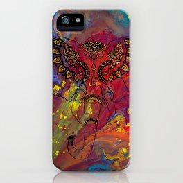 Gentle Warrior iPhone Case
