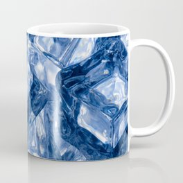 Ice cubes background Coffee Mug