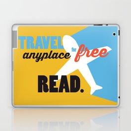 Travel - Just Read Laptop & iPad Skin