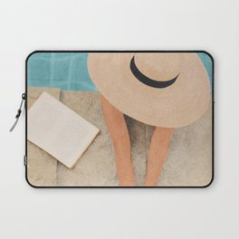On the edge of the Pool II Laptop Sleeve