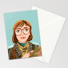 Log Lady Stationery Cards