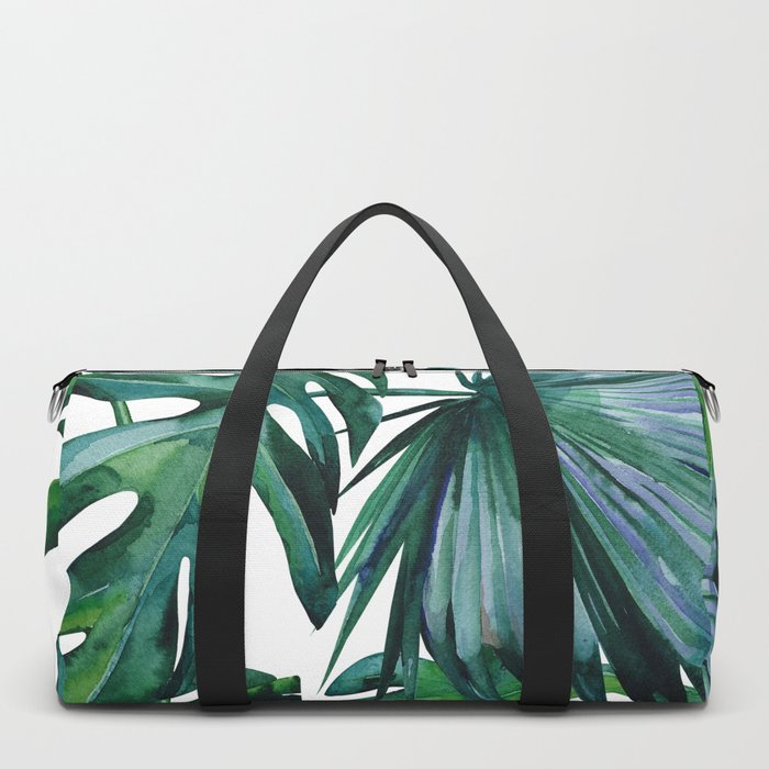 Tropical Palm Leaves Classic Duffle Bag