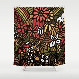 Urban Jungle Shower Curtain