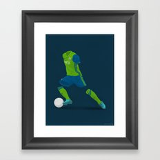 Seattle Sounders 2016 - MLS Cup Champions Framed Art Print
