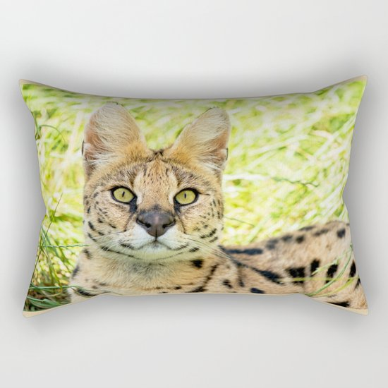 SERVAL BEAUTY Rectangular Pillow