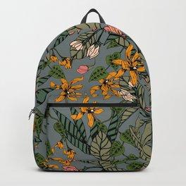 blooming flower botanical Backpack