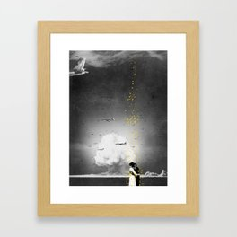 The Last Kiss Framed Art Print
