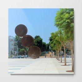 Tel Aviv photo - Habima Square - Israel Metal Print