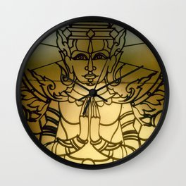 In prayer Wall Clock