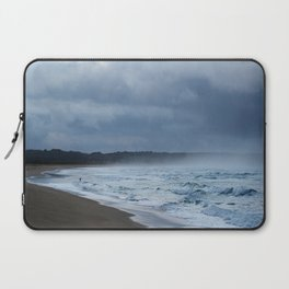 Fisherman at shore Laptop Sleeve