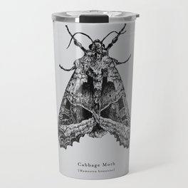 Cabbage Moth [Mamestra brassicae] Travel Mug