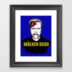 THE WALKEN DEAD Framed Art Print