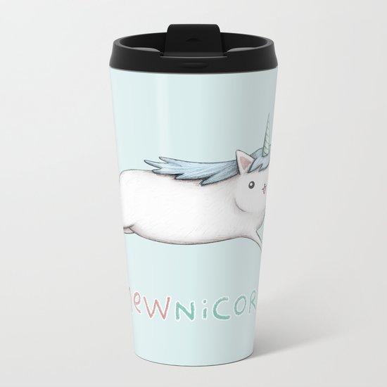 Mewnicorn Metal Travel Mug