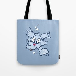 Luna & Lolli Blue - Lolli Swimming Tote Bag
