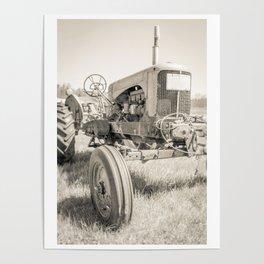 Vintage Tractor Durham NH Poster