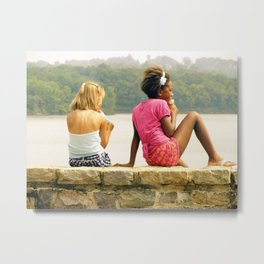 a day at the lake. Metal Print
