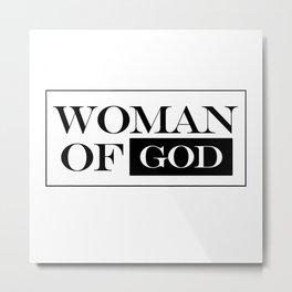 Woman of God Metal Print