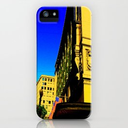 Dowtown Crossing iPhone Case