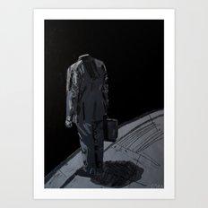 What if it´s all a lie? 2012. Art Print