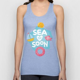 Sea You Soon Unisex Tank Top