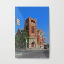 Ashland Avenue Baptist Church II Metal Print