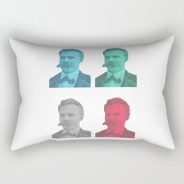 Friedrich Nietzsche Rectangular Pillow