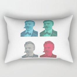 Friedrich Nietzsche Rectangular Pillow