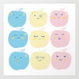 Candy Apples Art Print