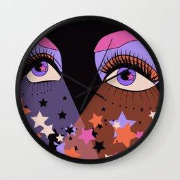 Star Gaze Wall Clock
