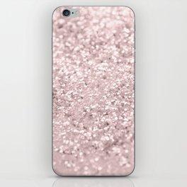 Blush Glitter Dream #1 #shiny #decor #art #society6 iPhone Skin