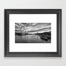 The Silvery Thames Framed Art Print