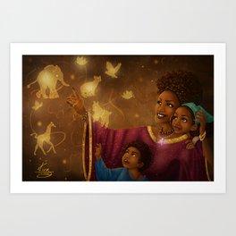 This is Magic Art Print