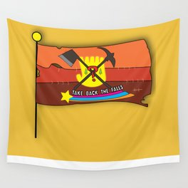 Take Back The Falls Wall Tapestry
