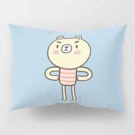 Tough Bear Pillow Sham
