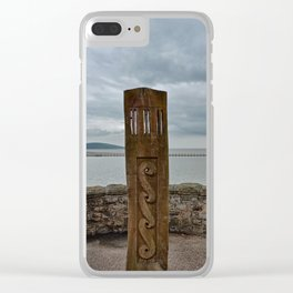 Wooden Marker Weston-super-Mare Clear iPhone Case