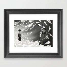 Paperman Framed Art Print