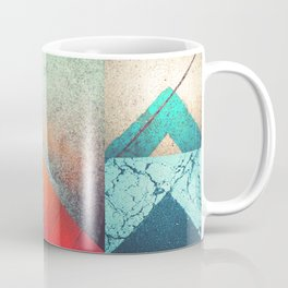 Bright Triangles Coffee Mug