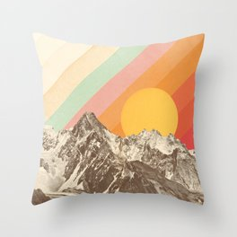 Mountainscape 1 Throw Pillow