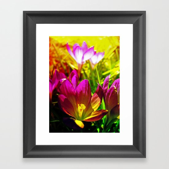 the day after Framed Art Print