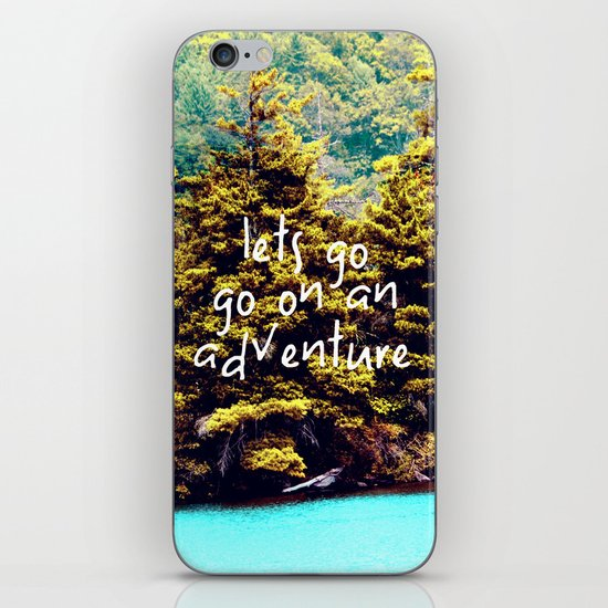 Lets Go iPhone & iPod Skin
