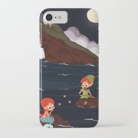 peter pan iPhone & iPod Cases featuring Peter Pan by Orelly