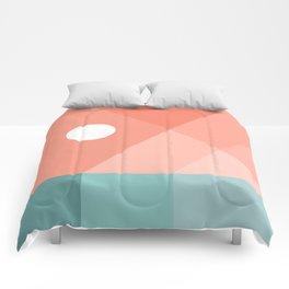 Geometric Landsape 12 Comforters