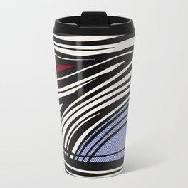 Lichtenstein - Brushstroke Travel Mug