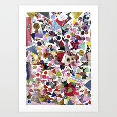 GLAMAROUS Art Print