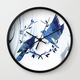 Finding Soul Mate In Universe Wall Clock