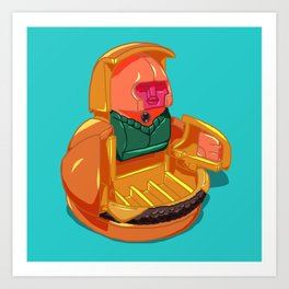 Changeables 1989 Happy Meal Toy Art Print