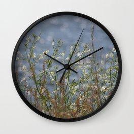 Honey Clover Wall Clock